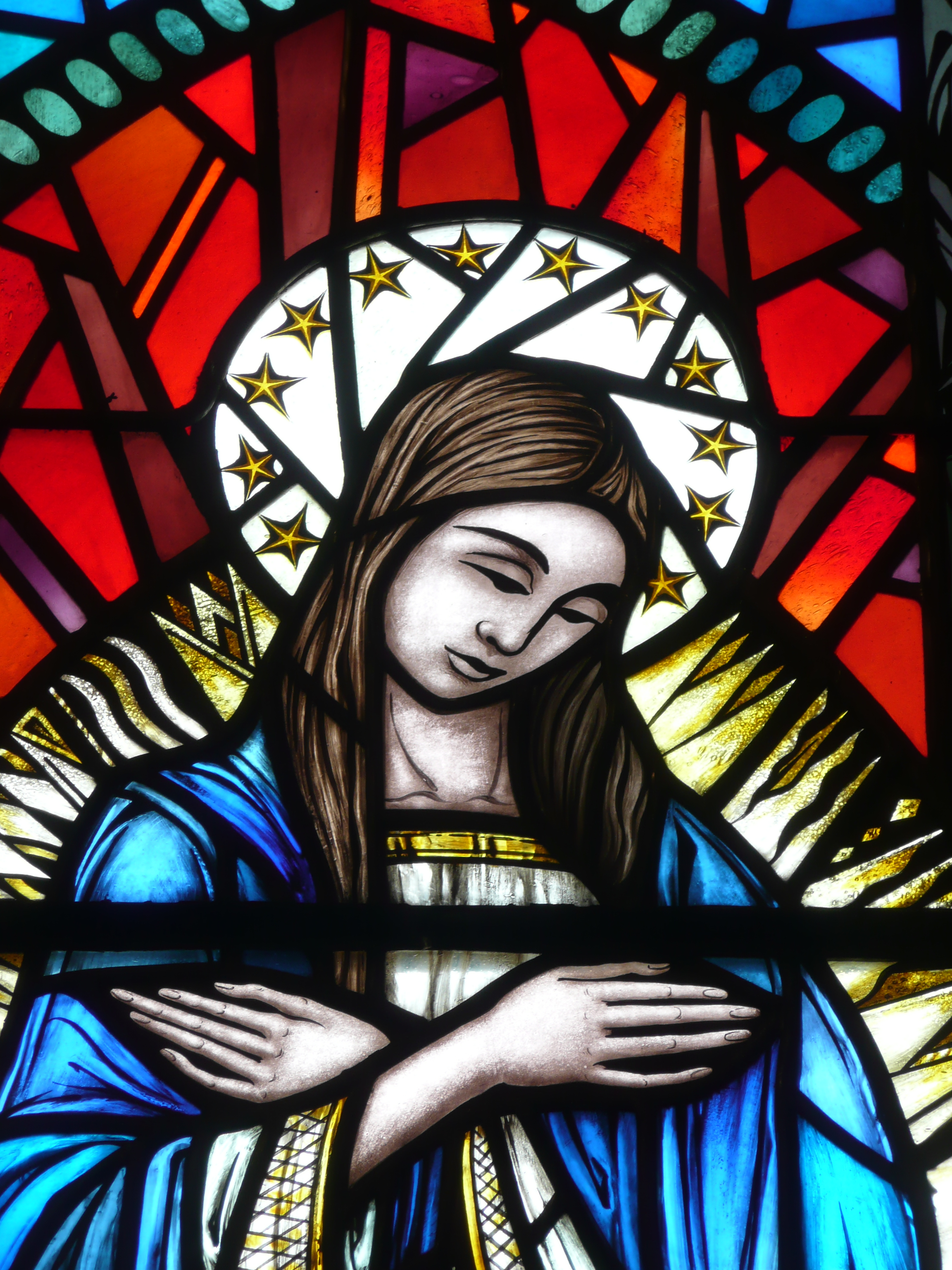 Immaculate Conception With Open Doors