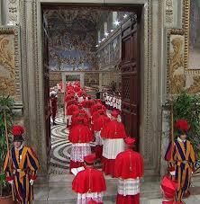 conclave x doors cardinals