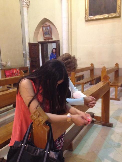 0 1 Beit Jala three pilgrims