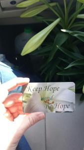 Keep Hope Be Hope 2015