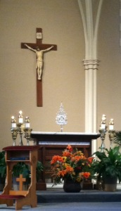 St Andrew adoration September 2