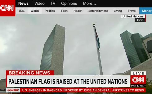UN Palestinian flag 03